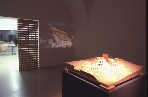 Exhibiton view, architecture Vorarlberg, 2001