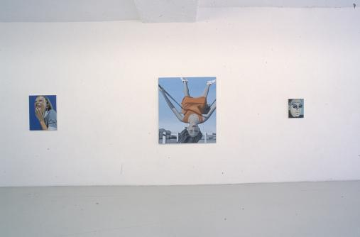 Exhibition view, Schock-Sensor, 2001