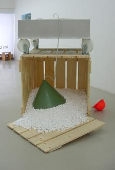 Exhibiton view, Simone Barresi, 2005