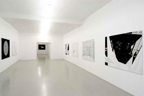 Exhibiton view, Martina Steckholzer, 2006