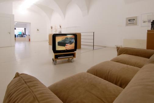 Exhibition view,  Elisabeth Baumgartner, 2008