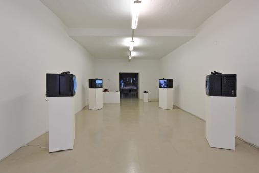 Exhibition view, Bakroman, Gianluca & Massimiliano De Serio, 2010 Photo: M. Pardatscher