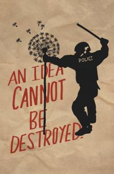 Nina Montenegro An Idea Cannot Be Destroyed