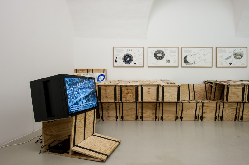 Mutant Matters in Constellations of One and Many - Part III, Installation view, photo Ivo Corrà, 2014