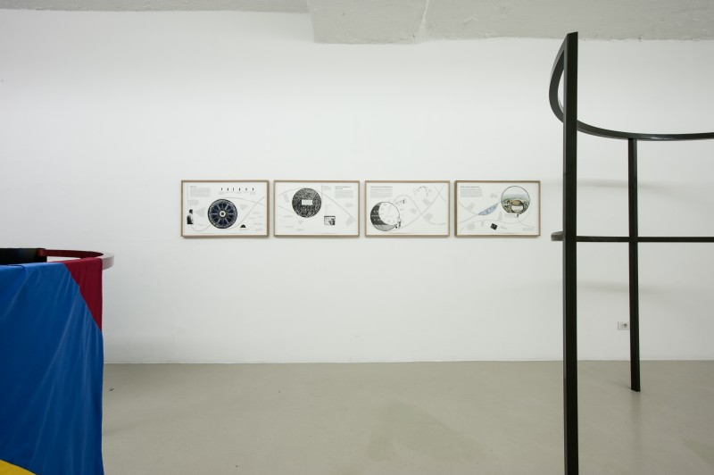 Constellations of One and Many, Installation view, photo Ivo Corrà, 2014