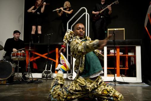 Rashaad Newsome, Five, performance, video, 2009 Courtesy the artist