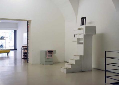 Exhibition view, Moltitudini-Solitudini, 2003