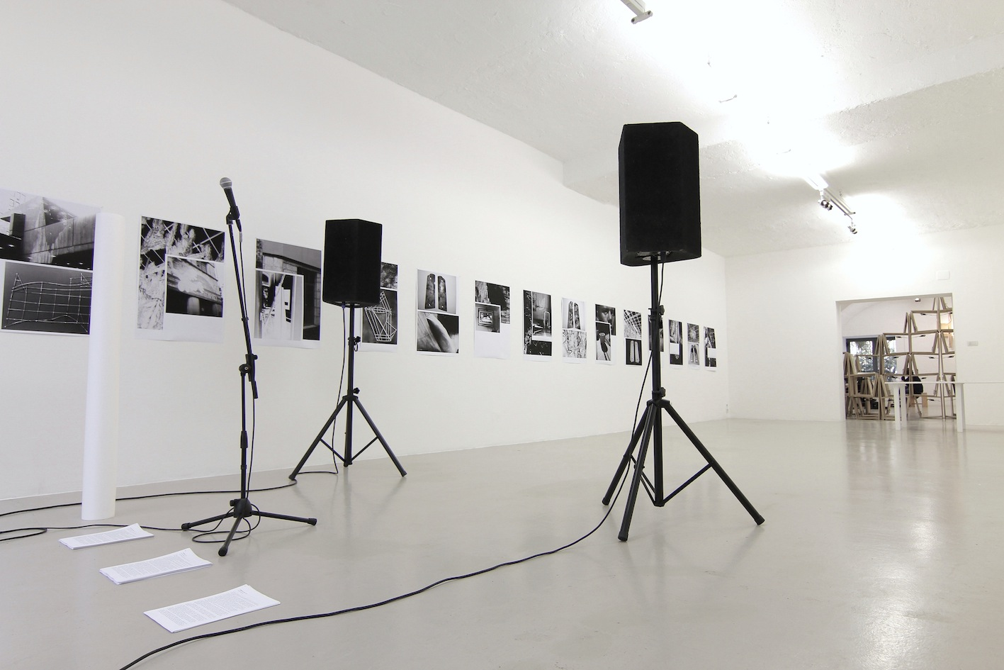 Pedro Barateiro, Endurance  Test, 2012, Installation view, photo Annelie Bortolotti