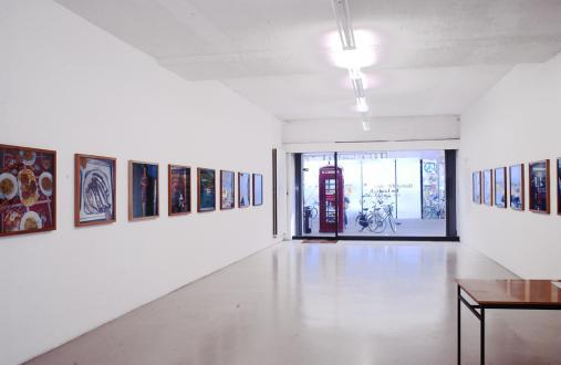 Exhibiton view, Das Land, 2002