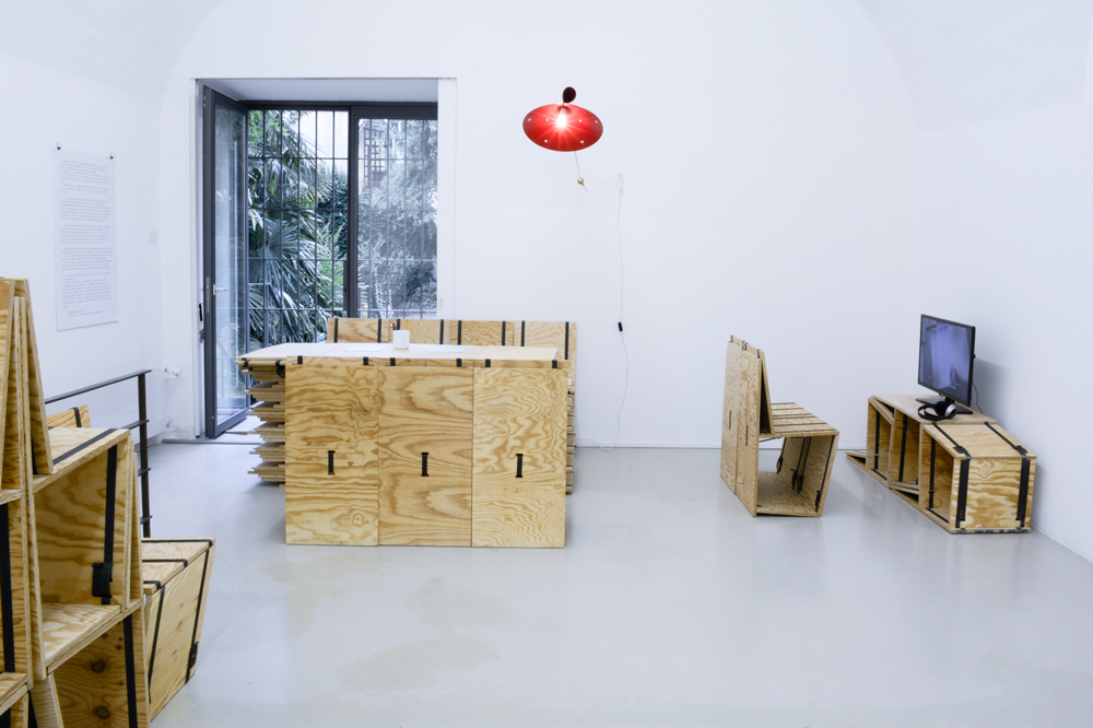 Making Room - Installation view, photo by aneres, 2014