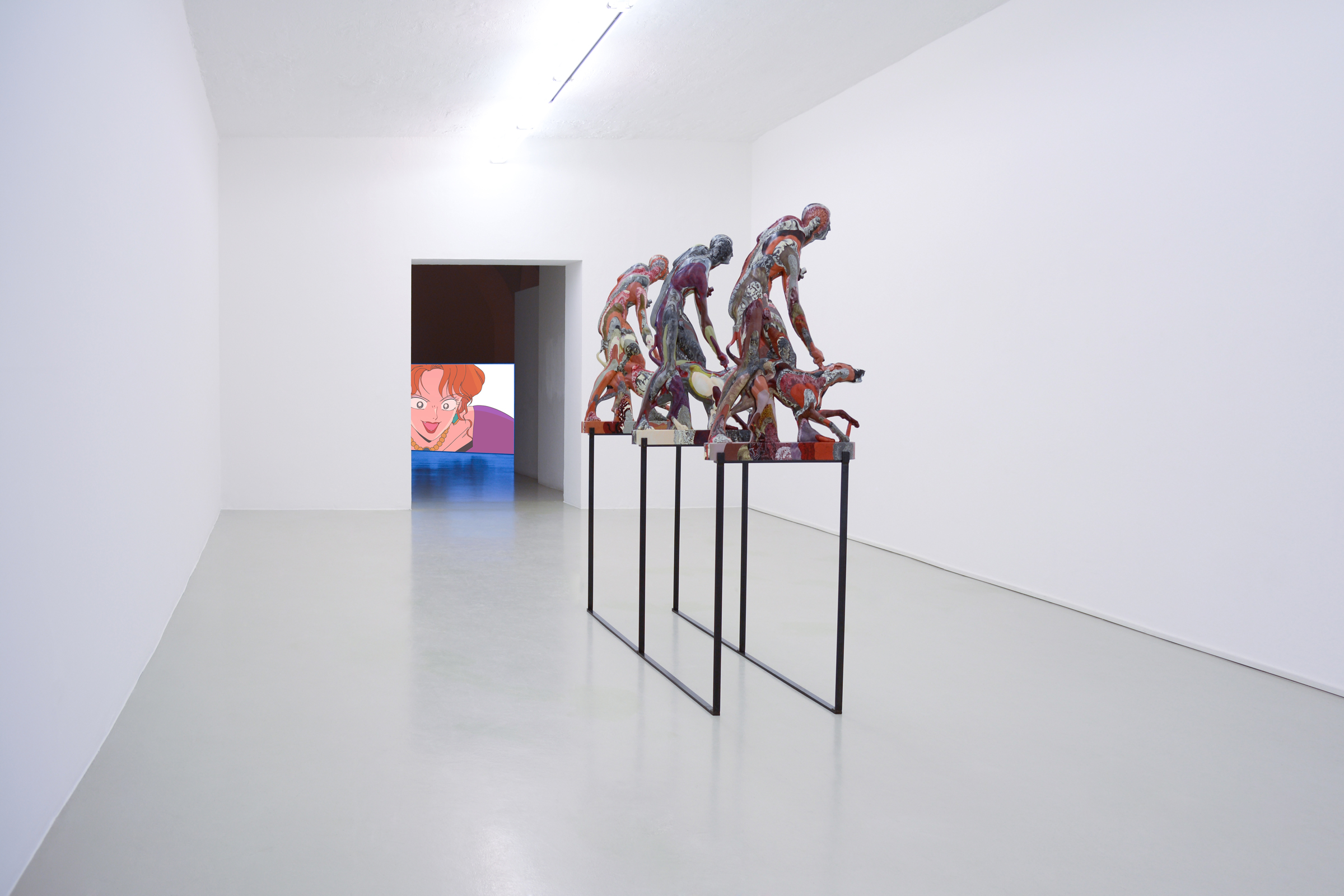 Oliver Laric, Installation view, photo by aneres, 2014