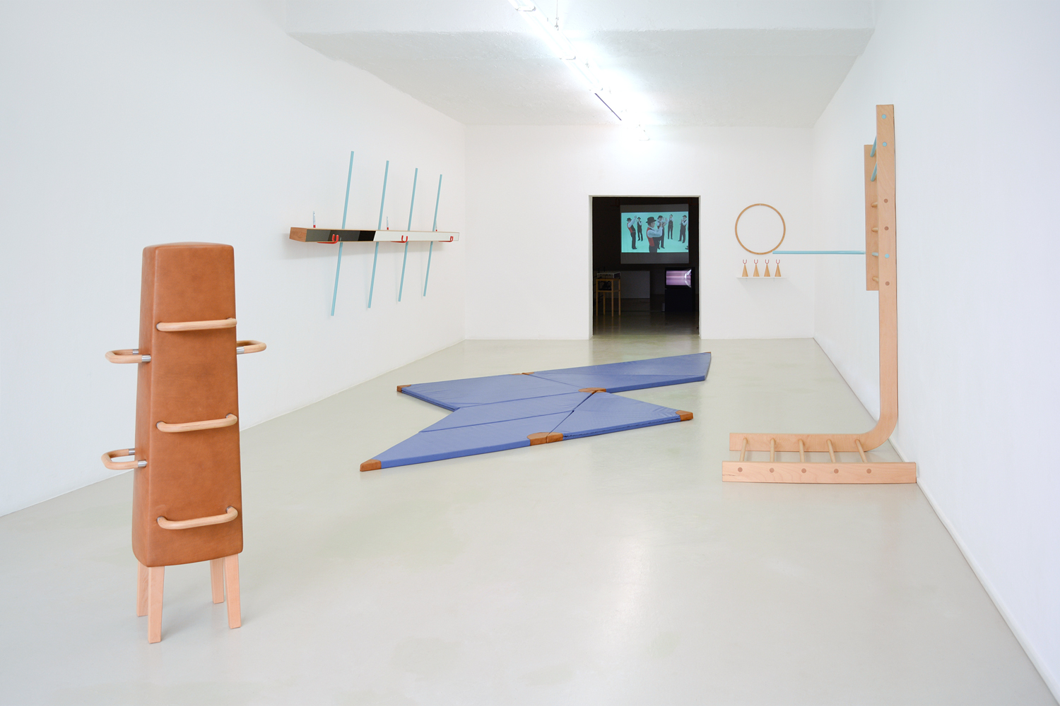 Ingrid Hora, Der Grillentöter, exhibition view, 2015, photo by aneres