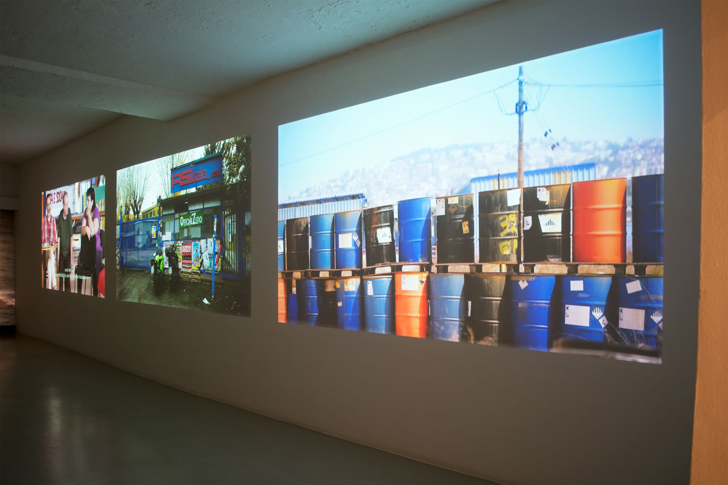 Oliver Ressler, Everything Under Control, Installation view, photo by aneres, 2016