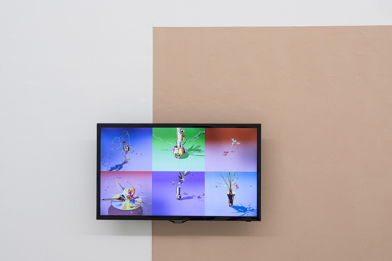 Douglas Coupland With Helios Design Labs, Toronto, Electric Ikebana, video, 2012 Vista dell'installazione, foto Guadagnino e Sorvillo, @argekunst.