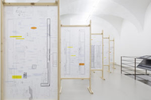 Elisa Caldana and Diego Tonus, Topography of Terror, Installation View at ar/ge kunst. Photo Guadagnini, 2017 ©argekunst, Bolzano