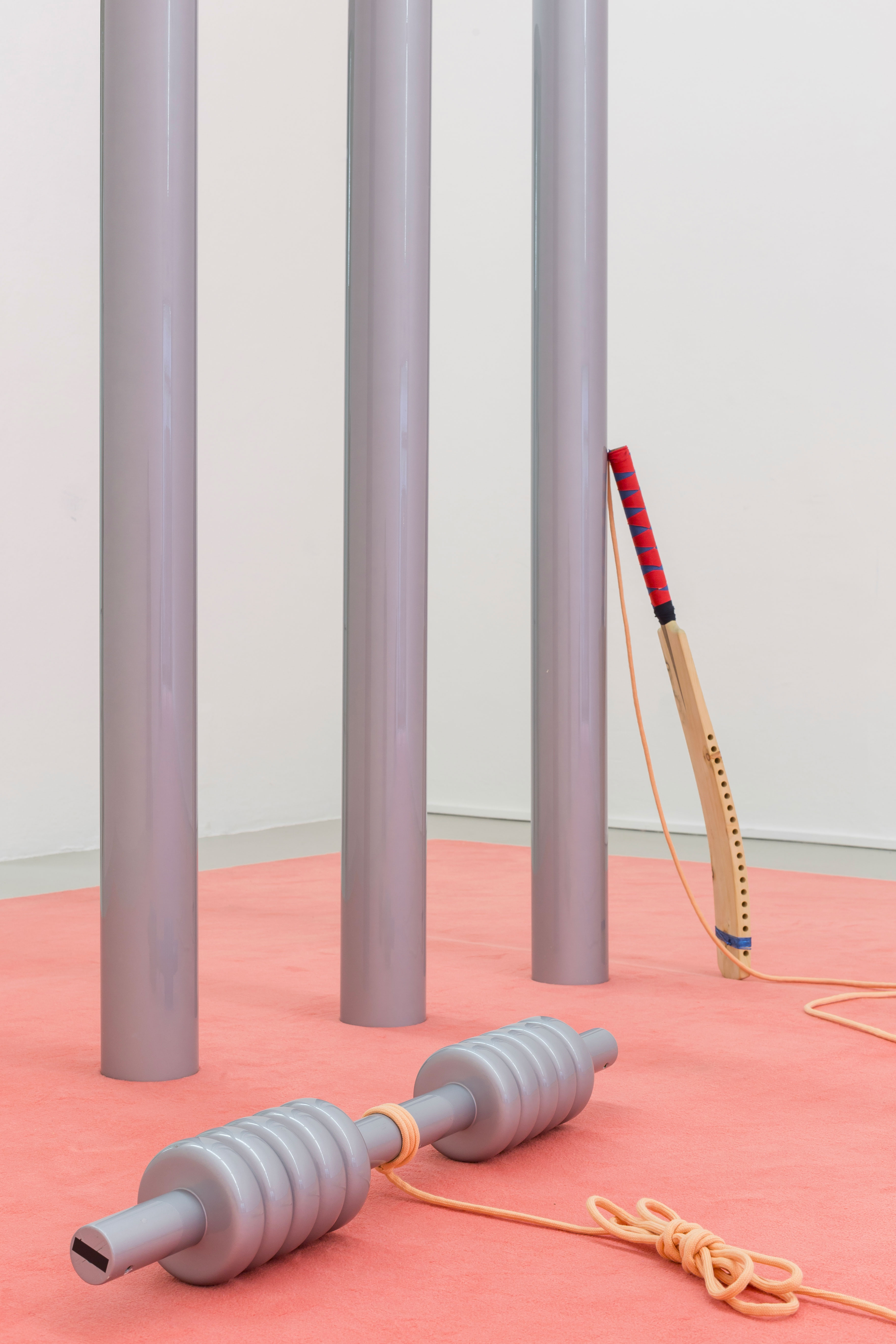 Matilde Cassani, It's just not cricket, Installation view. ©ar/ge kunst, Foto Luca Guadagnini, 2018